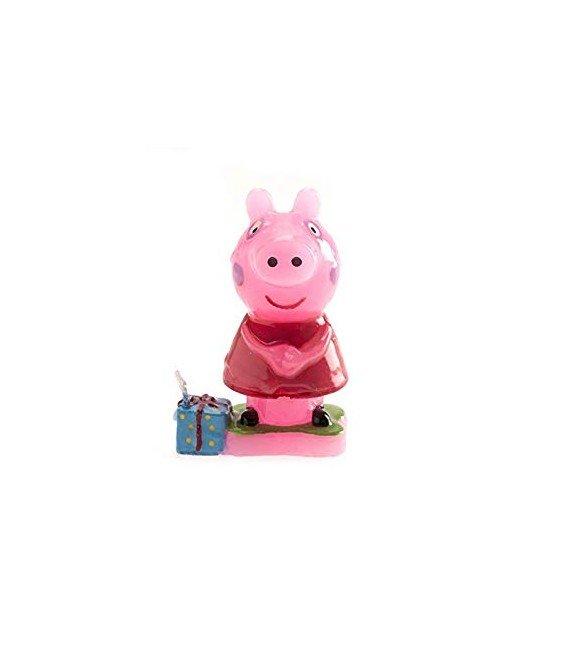 VELA DE CUMPLEAÑOS PEPPA PIG