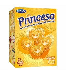 GALLETAS PRINCESA ARTIACH 120GR