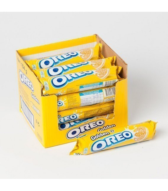 GALLETAS OREO GOLDEN 20 PAQUETES