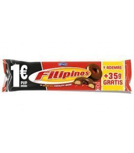GALLETAS FILIPINOS CHOCOLATE NEGRO 85GR