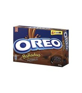 GALLETAS OREO BAÑADAS CHOCOLATE 245GR
