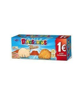 GALLETAS DINOSAURUS CHOCOLATE BLANCO
