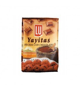 GALLETAS YAYITAS CHOCOLATE 250GRS