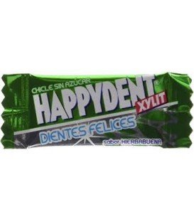 CHICLES HAPPYDENT HIERBABUENA 200 UDS