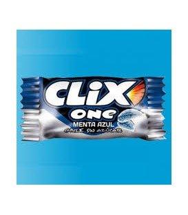 CHICLES CLIX MENTA AZUL 200UDS