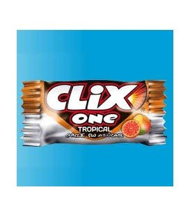 CHICLES CLIX TROPICAL 200UDS