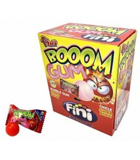 CHICLES FINI BOOM GUM 200UDS