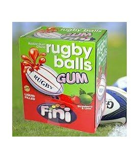 CHICLES FINI RUGBY BALLS 200UDS