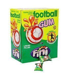 CHICLES FINI FOOTBALL BALLS 200UDS
