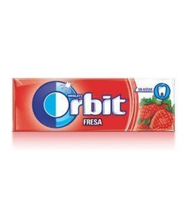 CHICLES ORBIT FRESA 1 BLISTER