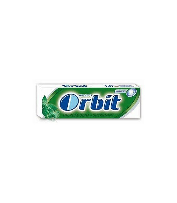 CHICLES ORBIT HIERBABUENA 1 BLISTER