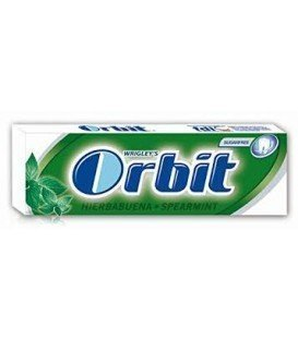 CHICLES ORBIT MENTA FUERTE 1 BLISTER