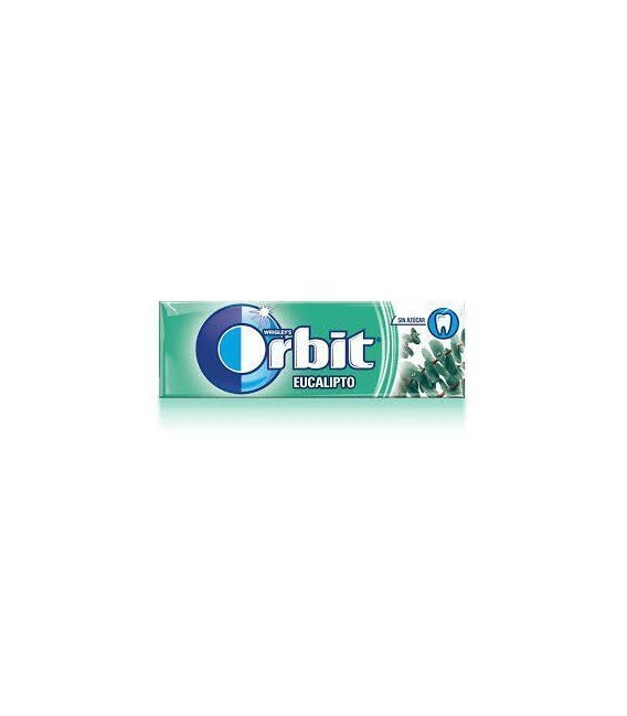 CHICLES ORBIT EUCALIPTO 1 BLISTER