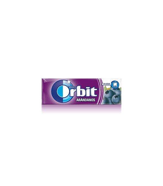 CHICLES ORBIT ARANDANOS 1 BLISTER