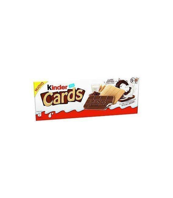 KINDER CARDS CAJA 5 UNIDADES