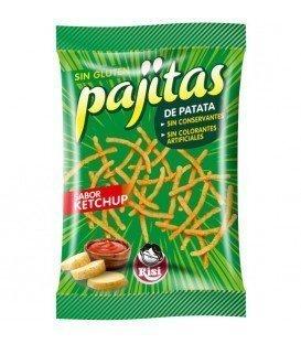 PAJITAS KETCHUP RISI 3 X 1,20 €