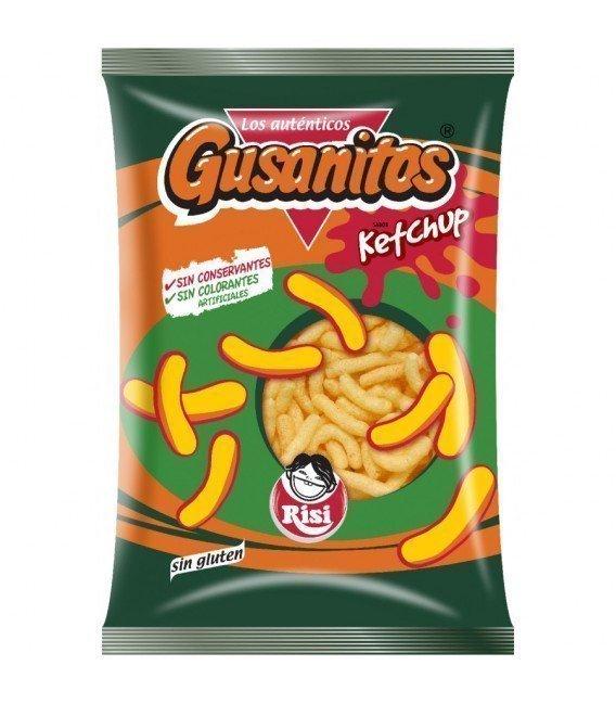 GUSANITOS KETCHUP RISI 35G 3 X 1,20 €