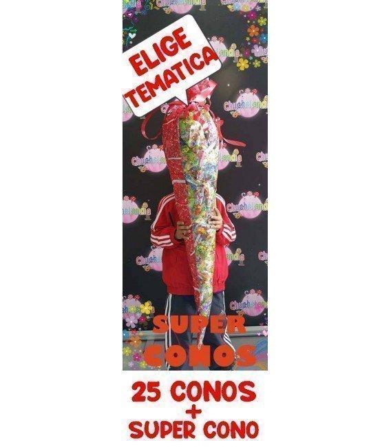 CARTUCHO GIGANTE CON 25 CONOS