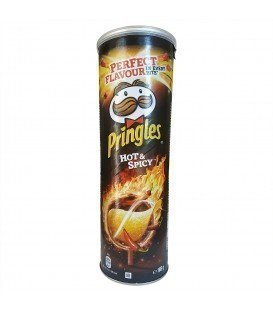 PRINGLES HOT SPICY 160GRS