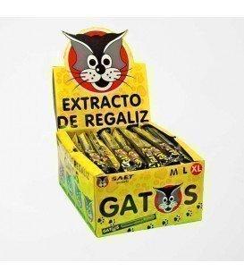 ALCAÇUZ DE GATO XL 40 UNIDADES
