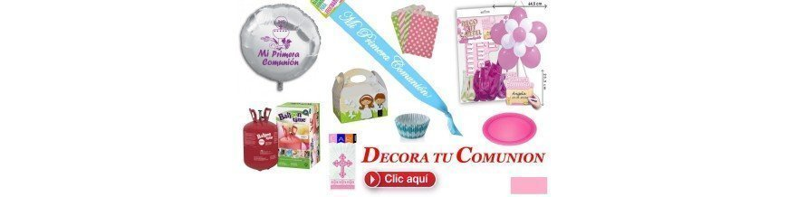 DECORA TU COMUNION