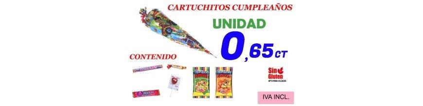CONOS DE CHUCHES CUMPLEAÑOS