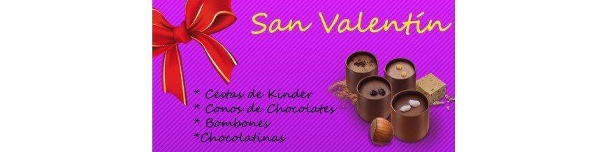 CHUCHES DE SAN VALENTIN