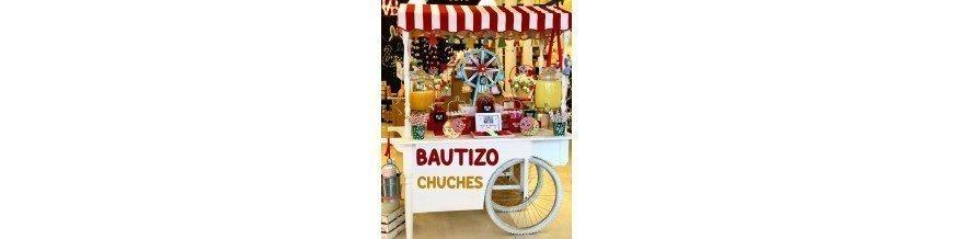 CHUCHES PARA BAUTIZO