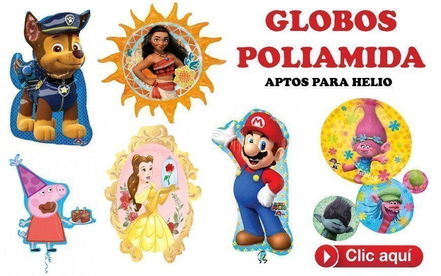 GLOBOS POLIAMIDA SUPERSHAPE